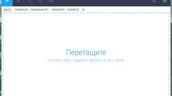 Стартовое окно  free download manager